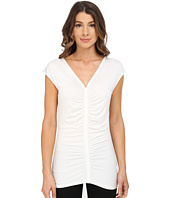 Adrianna Papell - V-Neck Ruched Top