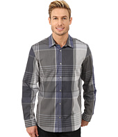 Calvin Klein - Large Scale End on End Plaid Woven Shirt