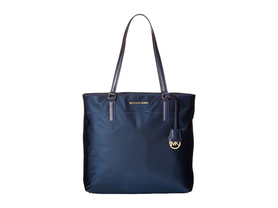 MICHAEL Michael Kors Morgan Large Tote Navy Tote Handbags