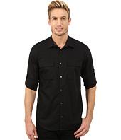 Calvin Klein - Poplin Roll-Sleeve Woven Shirt