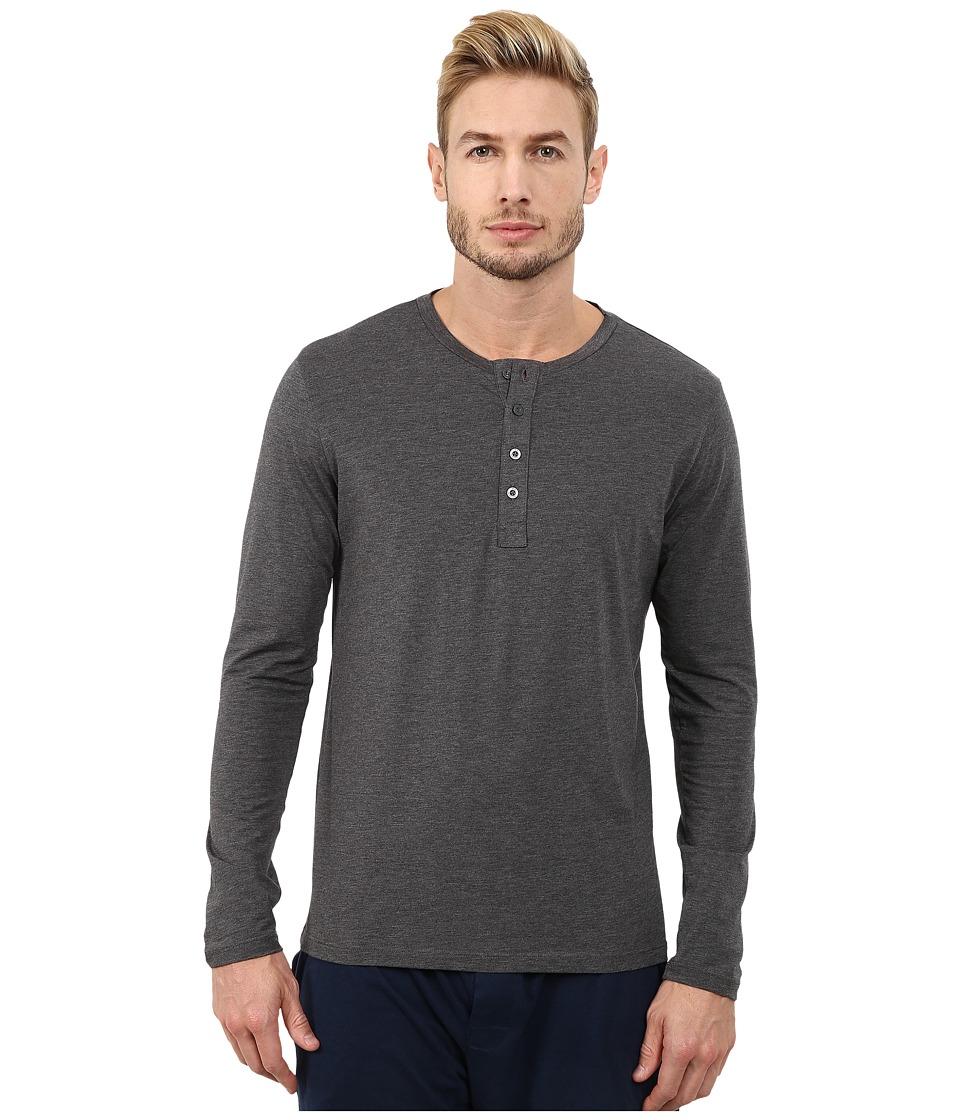 BOSS Hugo Boss Long Sleeve Balance Shirt Grey Mens Clothing