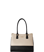 Calvin Klein - On My Corner Saffiano Leather Satchel