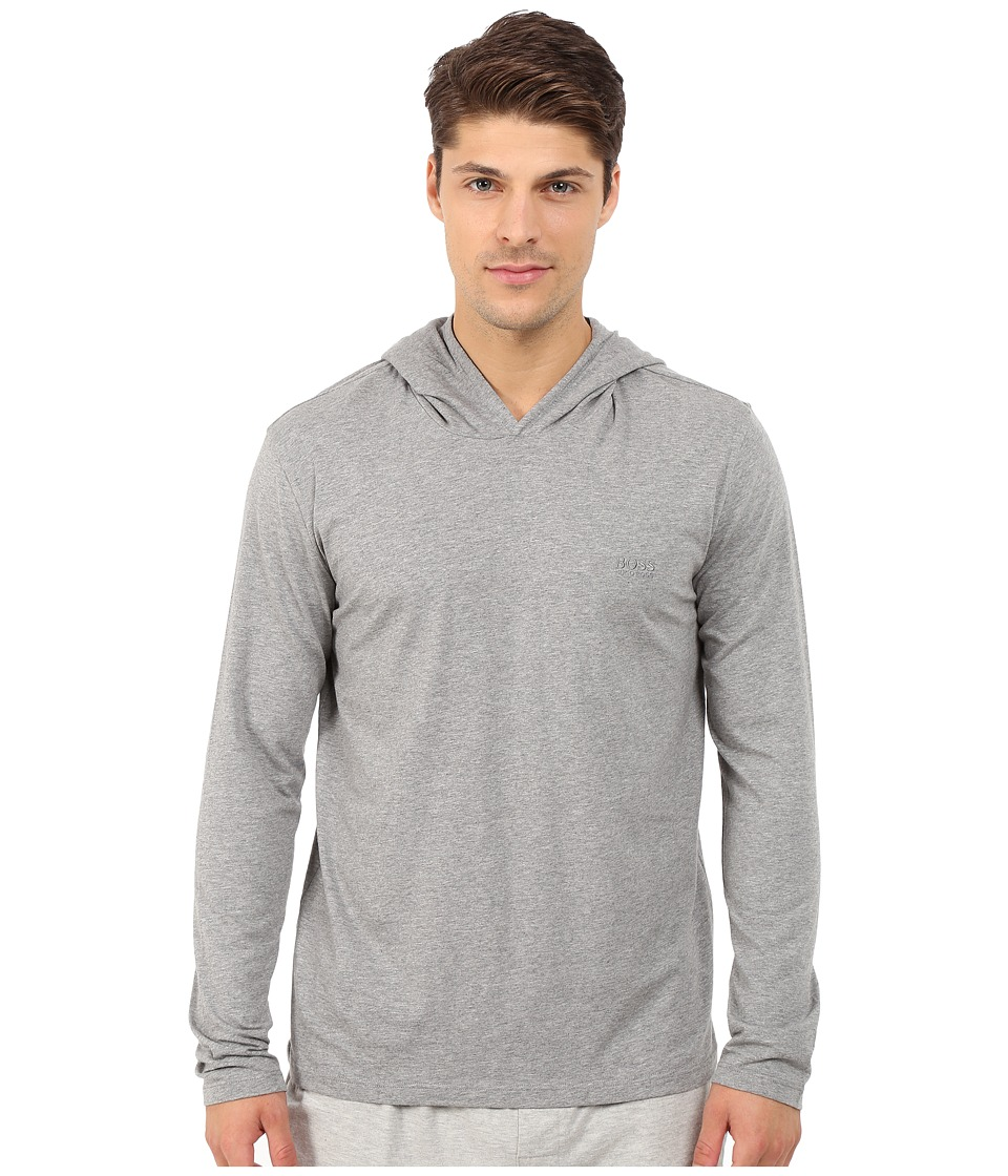 BOSS Hugo Boss Mix and Match Hoodie Medium Grey Mens Pajama