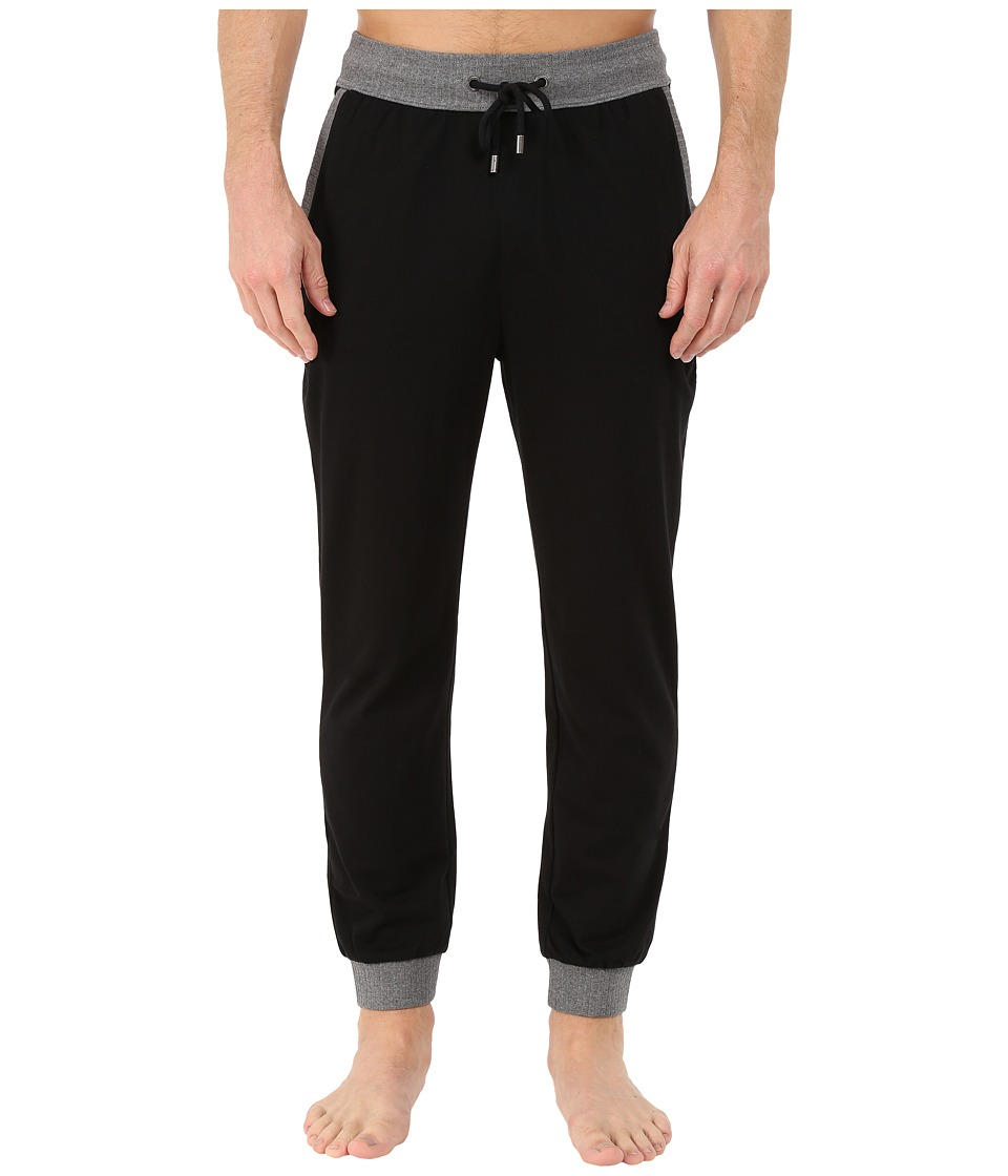 BOSS Hugo Boss Authentic Long Pants Black Mens Pajama