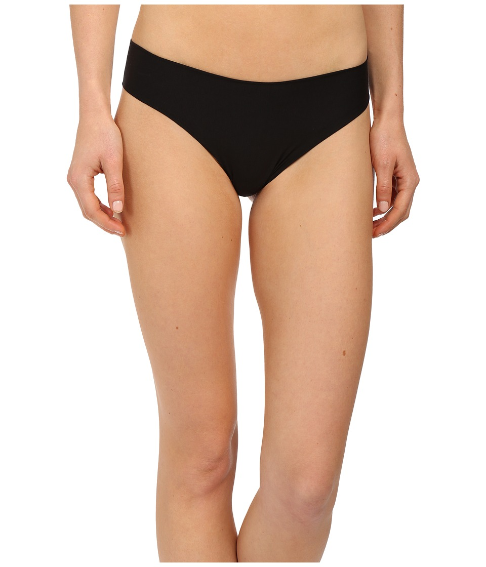 Commando Butter Mid Rise Thong CT16 (Midnight) Women's Un...