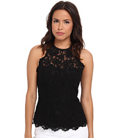 Nicole Miller - Corded Lace Halter Top