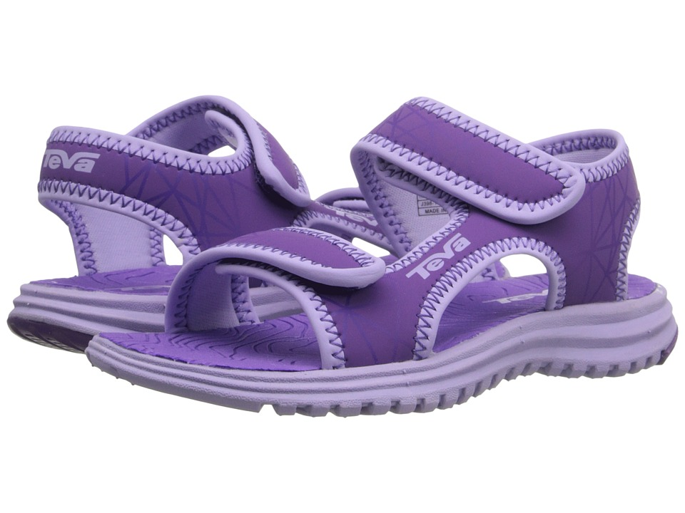 Teva Kids Tidepool Little Kid/Big Kid Purple/Lavender Print Girls Shoes