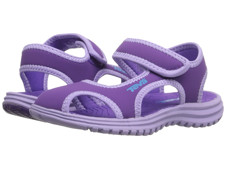 Teva Kids Tidepool CT Toddler Deep Lavender/Lavender Girls Shoes