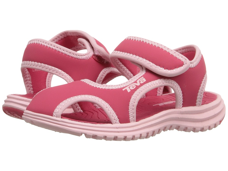 Teva Kids Tidepool CT Toddler Paradise Pink/Almond Blossom Girls Shoes