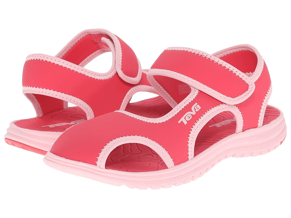 Teva Kids Tidepool CT Little Kid Paradise Pink/Almond Blossom Girls Shoes