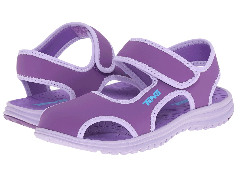 Teva Kids Tidepool CT Little Kid Deep Lavender/Lavender Girls Shoes