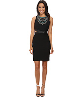 Nicole Miller - Necklace Cutout Queenie Dress