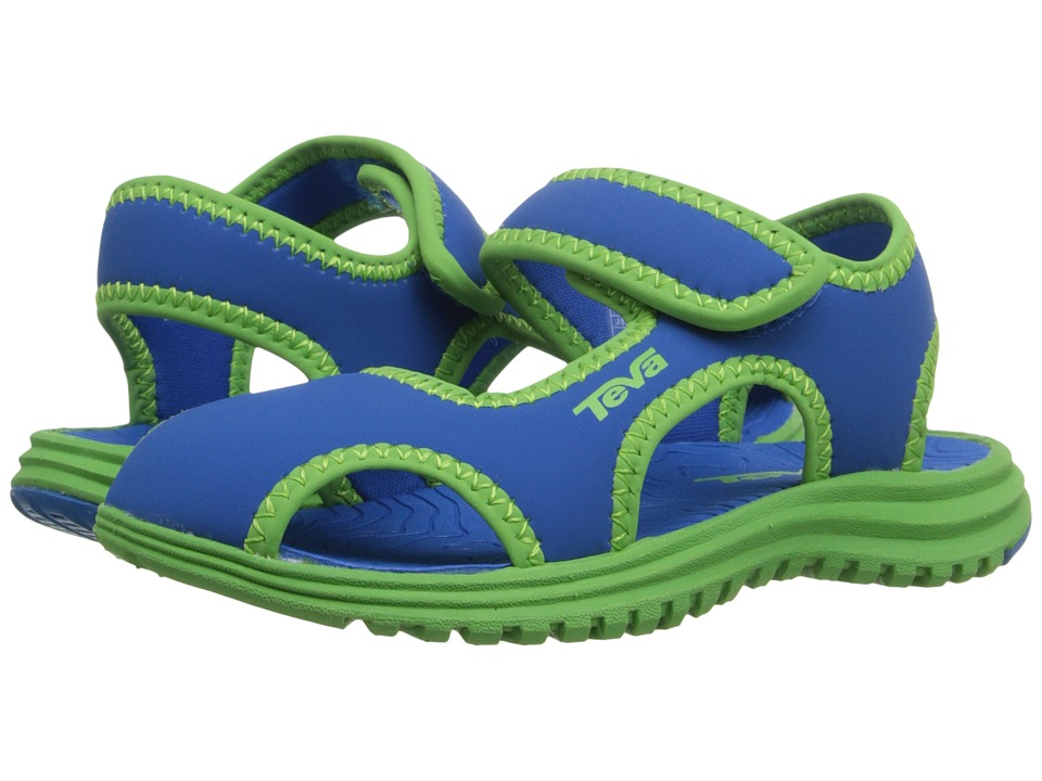 Teva Kids Tidepool CT Toddler Blue/Green Kids Shoes