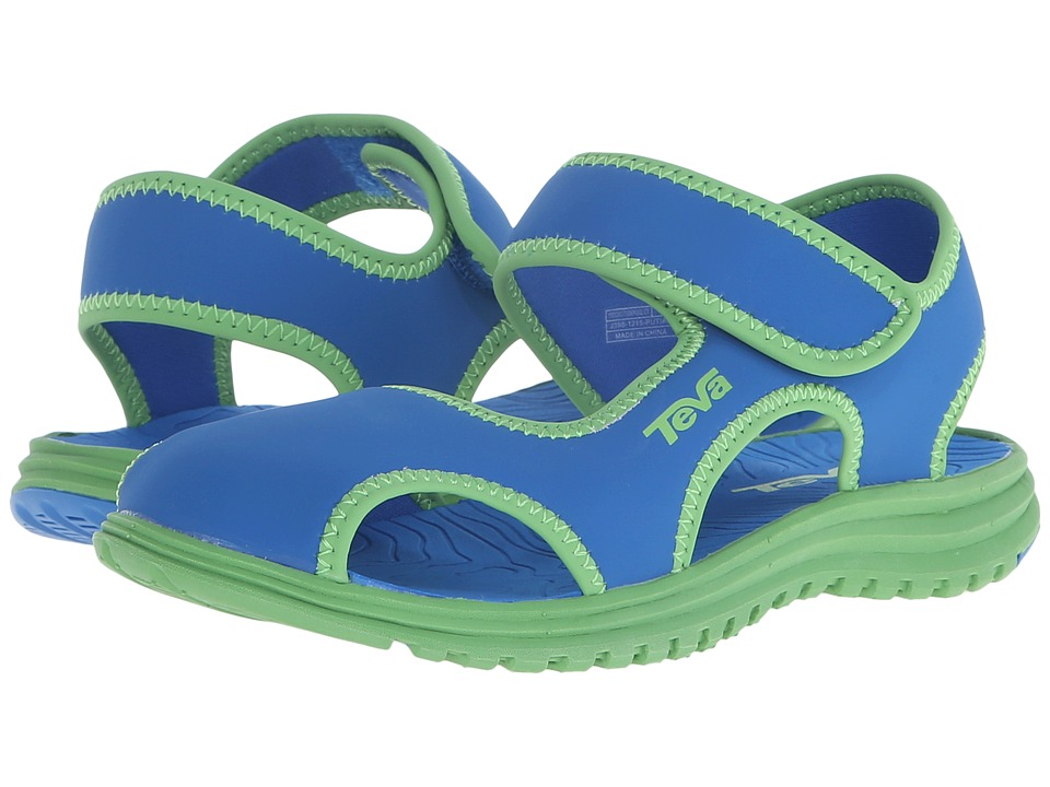 Teva Kids Tidepool CT Little Kid Blue/Green Kids Shoes