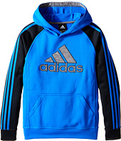 adidas Kids - 3-Stripe Tech Fleece Pullover (Big Kids)