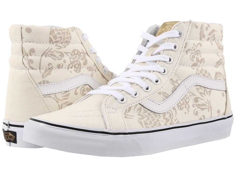 Vans SK8 Hi Reissue 50th Duke/Classic White Skate Shoes