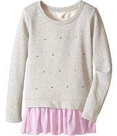 Pumpkin Patch Kids - Finding Anastasia Elena Skirted Sweat Jacket (Little Kids/Big Kids)