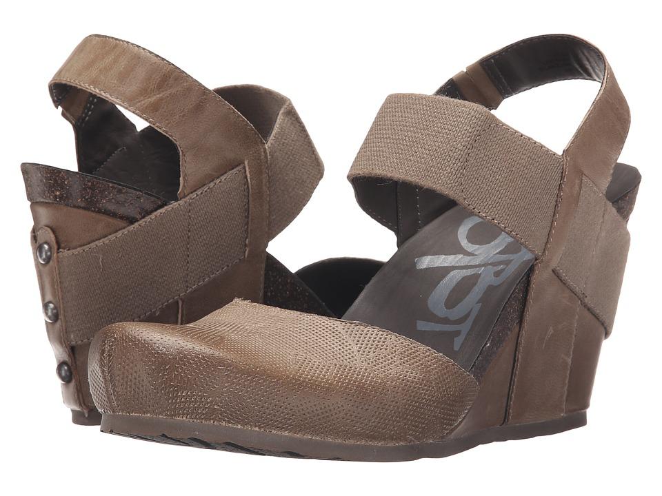 OTBT Rexburg Dust Grey Womens Wedge Shoes