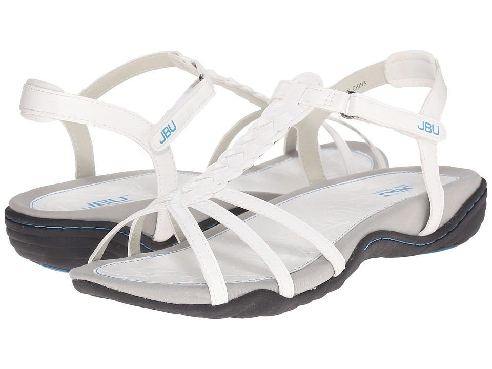 JBU Azalea White Womens Sandals