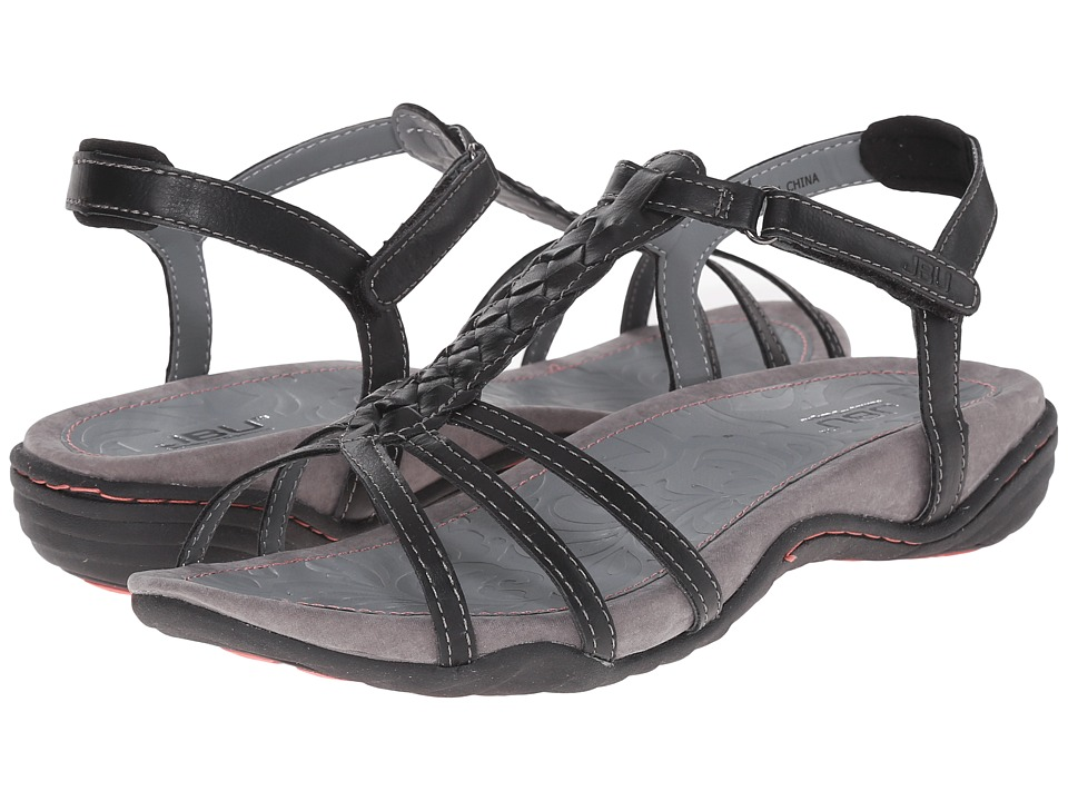JBU Azalea Black Womens Sandals