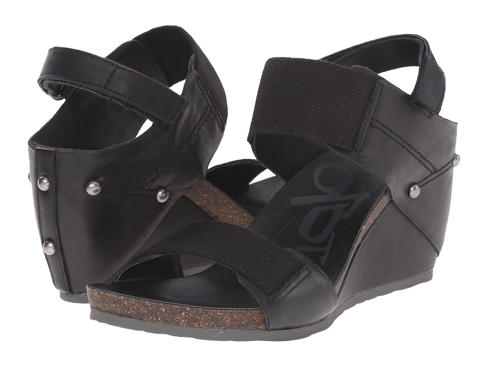 OTBT - Trailblazer (Black) Womens Wedge Shoes