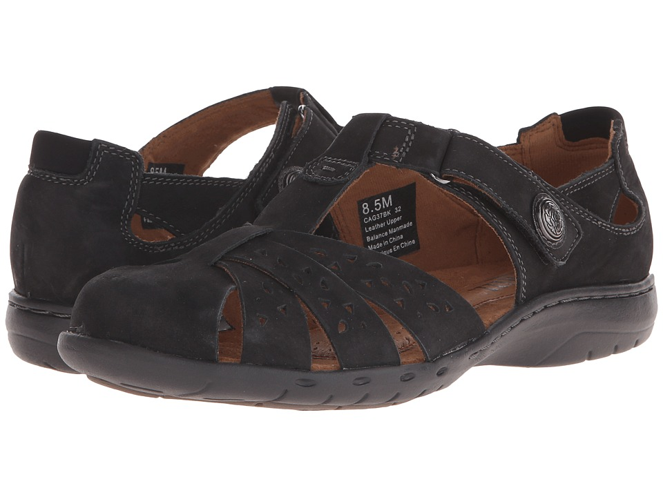 Cobb Hill Patina Black Womens Flat Shoes