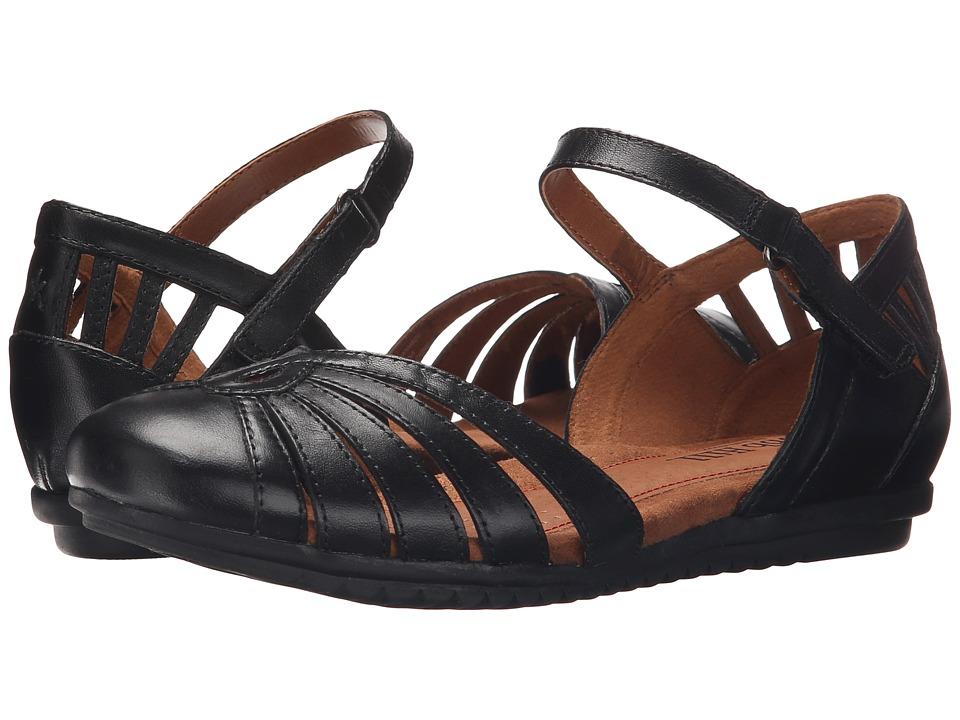 Cobb Hill Irene Black Womens Flat Shoes