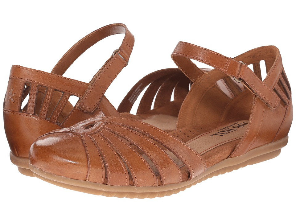 Cobb Hill Irene Tan Womens Flat Shoes