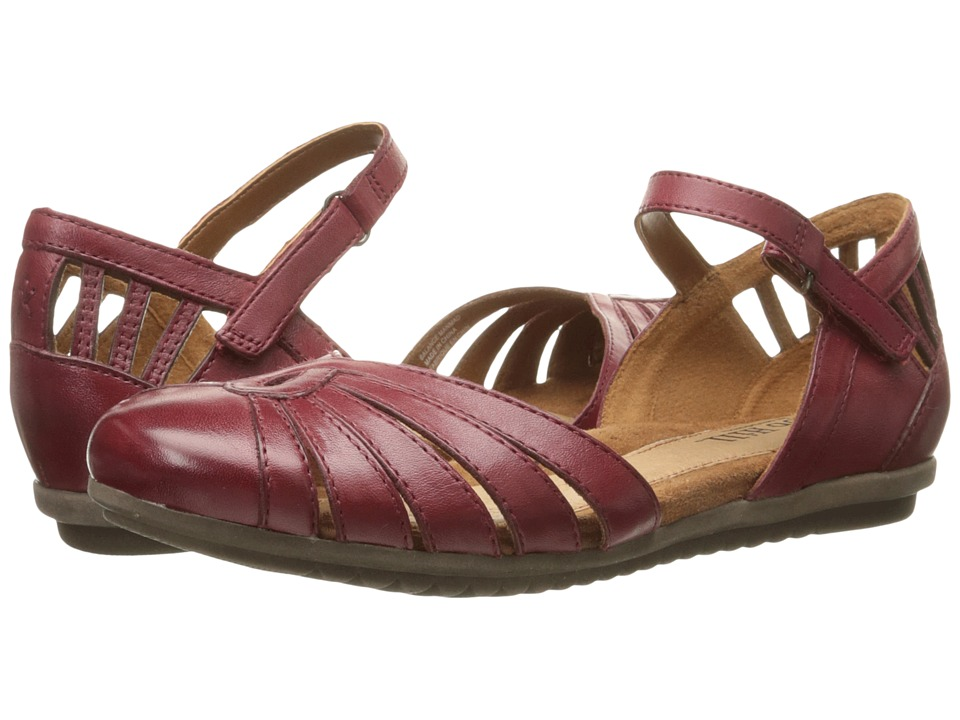Cobb Hill Irene Bordeaux Womens Flat Shoes