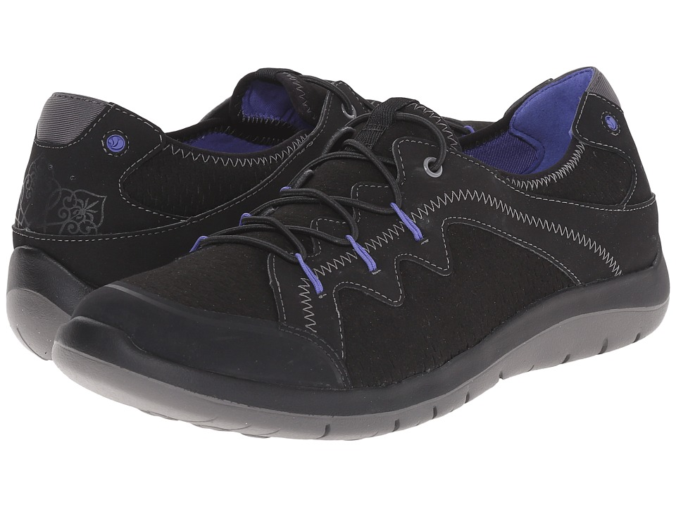 Cobb Hill FitStride Black Womens Lace up casual Shoes