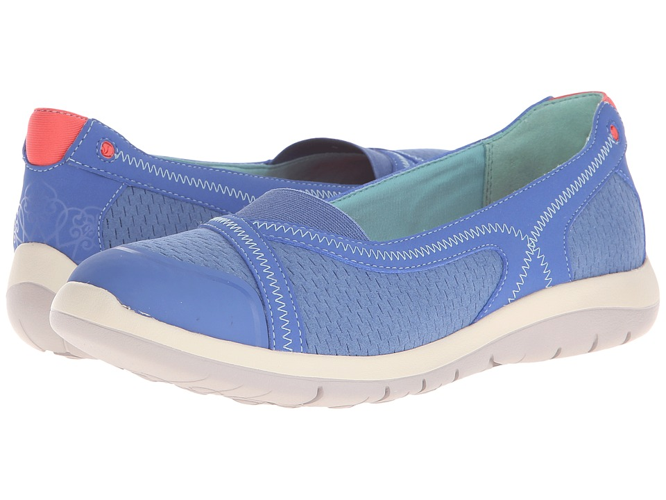 Cobb Hill FitSpa Blue Womens Flat Shoes