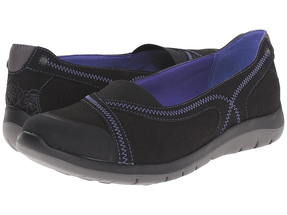 Cobb Hill FitSpa Black Womens Flat Shoes