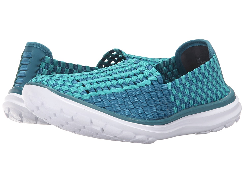 Cobb Hill Wise Teal Multi Womens Slip on Shoes