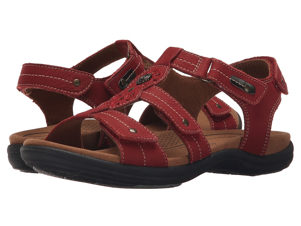 Cobb Hill REVsoothe Red Womens Sandals