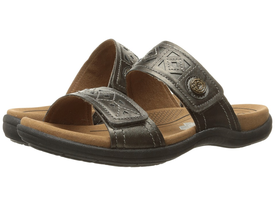 Cobb Hill REVsoul Pewter Womens Slide Shoes