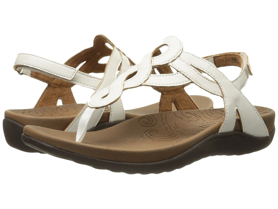 Cobb Hill Ramona White Womens Sandals
