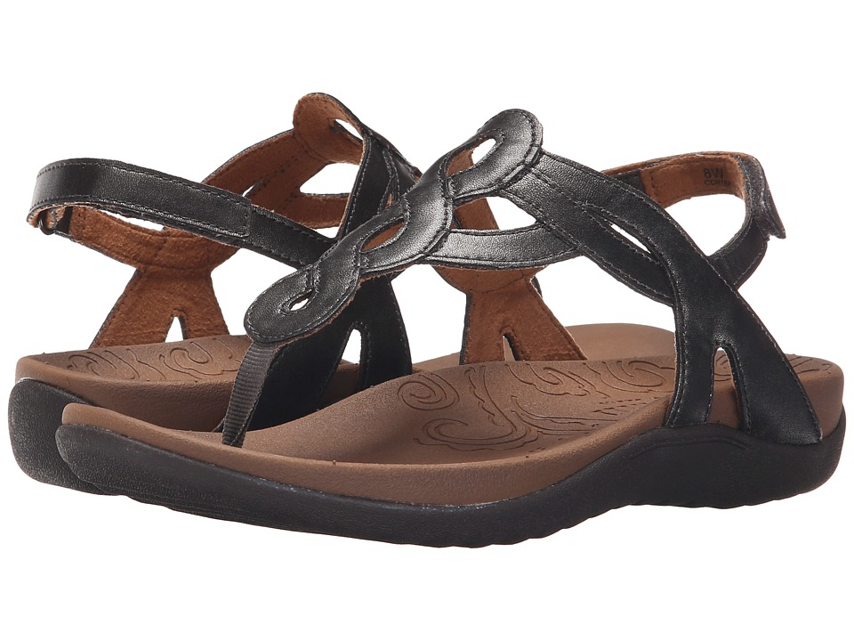 Cobb Hill Ramona Pewter Womens Sandals
