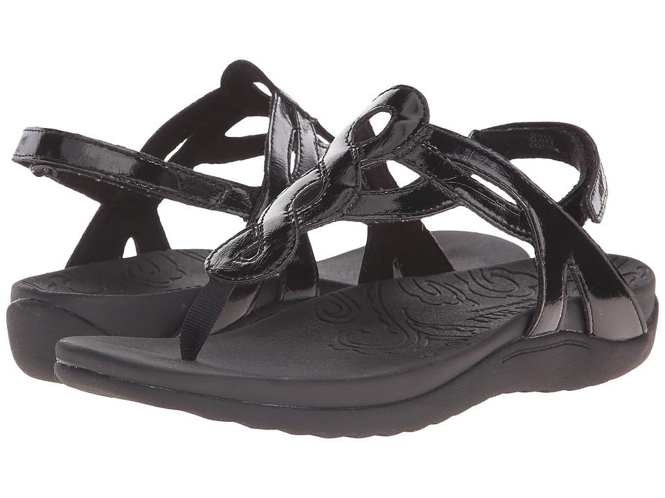 Rockport Ramona (Black Patent) Sandals