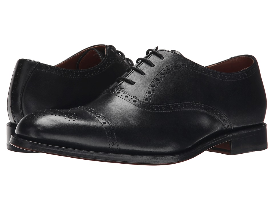 Grenson Matthew Black Calf Mens Lace up casual Shoes