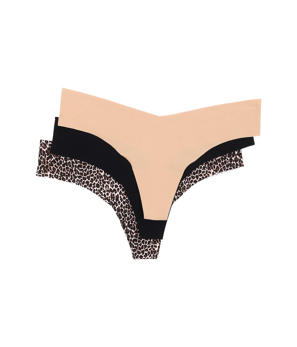Commando 3 Pack Boxed Thongs GP049 Multi Womens Underwear