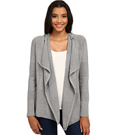 Mavi Jeans - Zip Detailed Open Cardigan w/ Hoodie