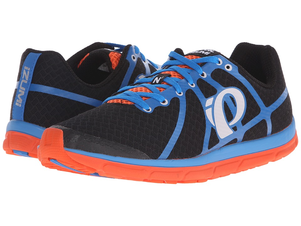 Pearl Izumi Em Road N 1 v2 Black/Fountain Blue Mens Running Shoes
