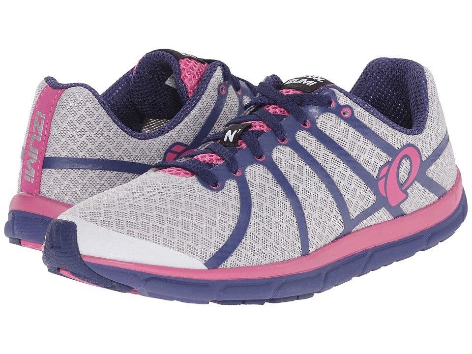 Pearl Izumi EM Road N 1 v2 Silver/Deep Indigo Womens Running Shoes