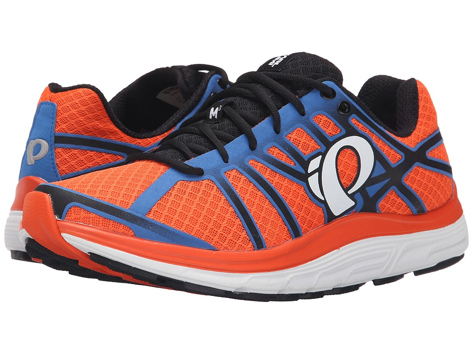 Pearl Izumi EM Road M 3 v2 Red Orange/White Mens Running Shoes