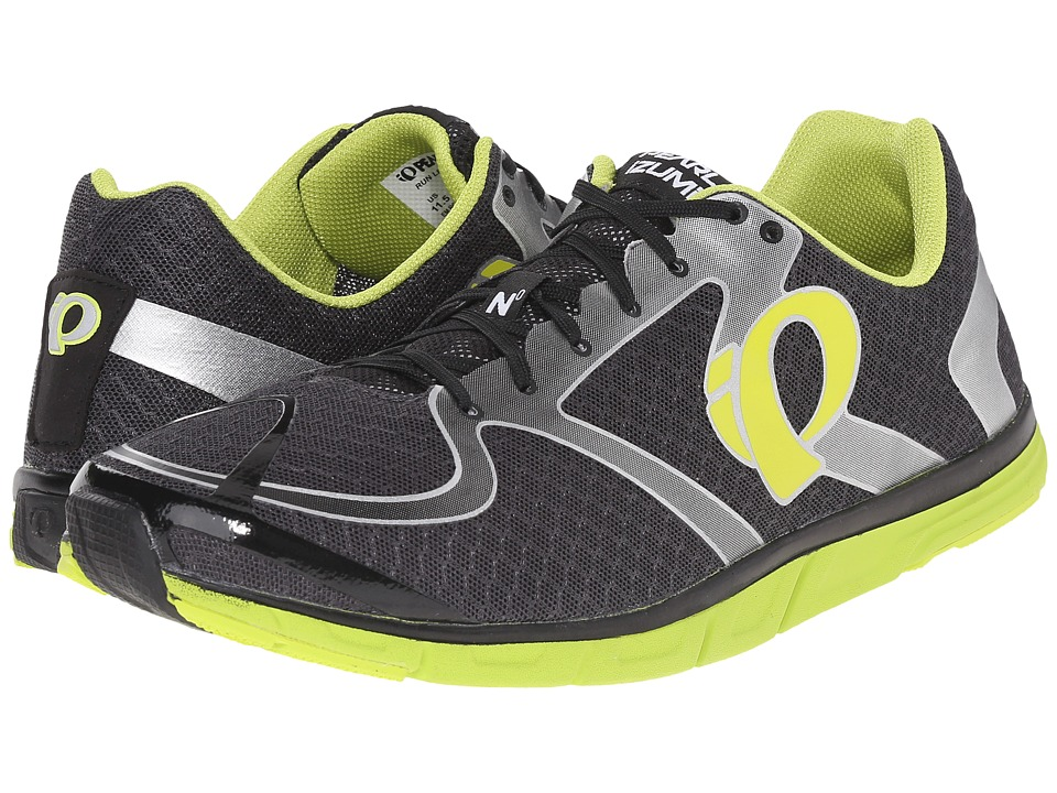 Pearl Izumi Em Road N 0 v2 Shadow Grey/Lime Punch Mens Running Shoes