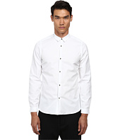 The Kooples - Faille Shirt w/ Skull Buttons