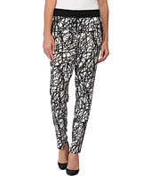 Calvin Klein - Printed Pants w/ Black Trim