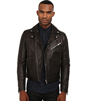 The Kooples - Sport Thick Cow Leather Motorcycle Jacket