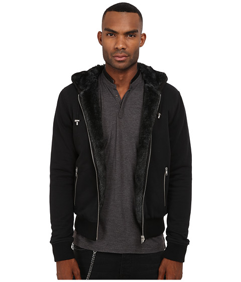 The Kooples Reversible Supreme Molleton Hoodie - Zappos.com Free