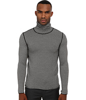 The Kooples - Zigzag Stitch Turtleneck Sweater